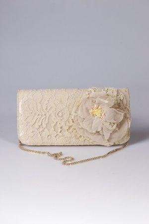 Dolce & Gabbana Spitzenclutch beige