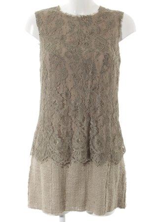 Dolce & Gabbana Spitzenkleid mehrfarbig Elegant