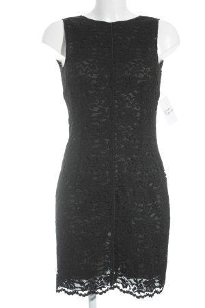 Dolce & Gabbana Spitzenkleid schwarz Party-Look