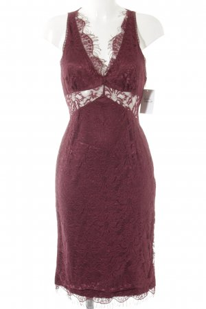 Dolce & Gabbana Spitzenkleid violett Elegant