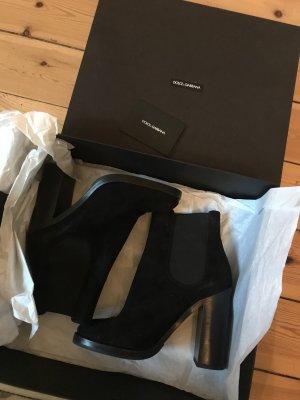 Dolce & Gabbana Bottines à enfiler noir