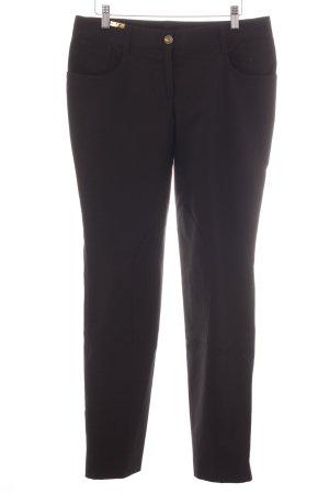 Dolce & Gabbana Stoffhose schwarz sportlicher Stil
