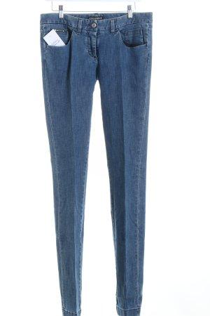 Dolce & Gabbana Straight-Leg Jeans blau Jeans-Optik