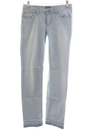 Dolce & Gabbana Straight-Leg Jeans hellgrau Casual-Look