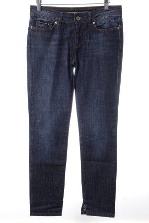 Dolce & Gabbana Straight-Leg Jeans dunkelblau Street-Fashion-Look