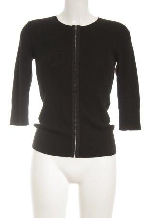 Dolce & Gabbana Strick Cardigan schwarz Elegant