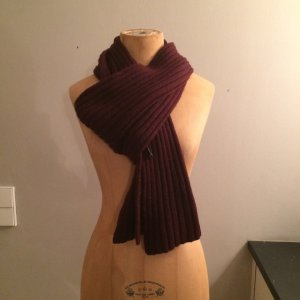 Dolce & Gabbana Knitted Scarf purple wool