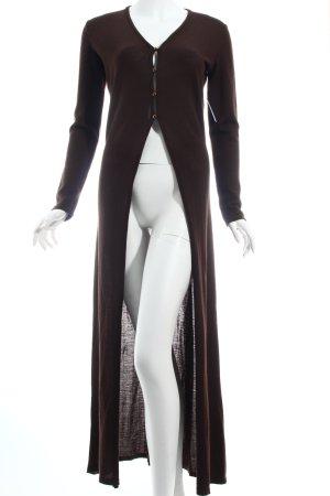 Dolce & Gabbana Strickjacke dunkelbraun schlichter Stil