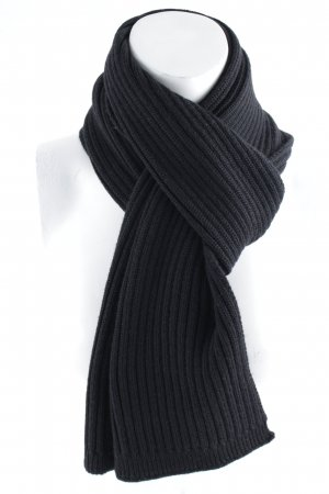 Dolce & Gabbana Knitted Scarf black casual look
