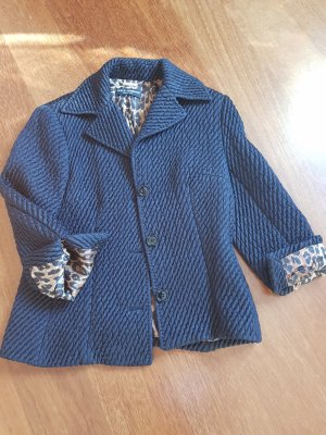 Dolce & Gabbana Short Jacket black silk