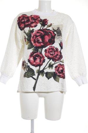 Dolce & Gabbana Sweatshirt motif floral style décontracté