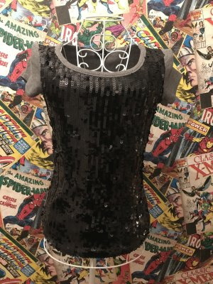 Dolce & Gabbana Chemise côtelée noir-gris