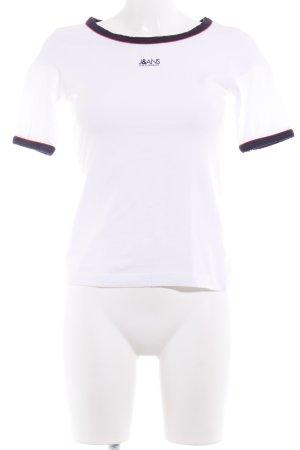 Dolce & Gabbana T-Shirt mehrfarbig sportlicher Stil