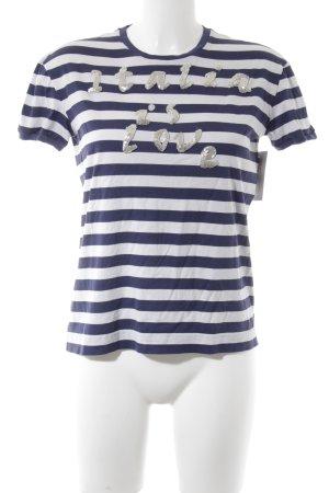 Dolce & Gabbana T-Shirt Streifenmuster schlichter Stil