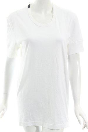 Dolce & Gabbana T-Shirt weiß Casual-Look