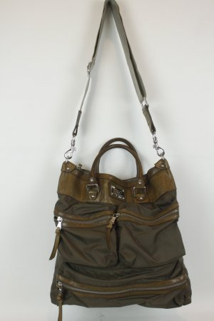 Dolce & Gabbana Tasche braun Leder/Nylon