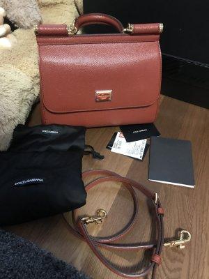 Dolce & Gabbana Borsa con manico ruggine