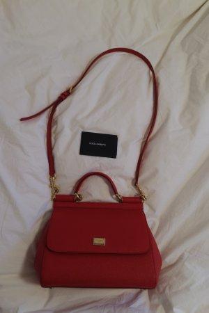 Dolce & Gabbana Borsa larga rosso