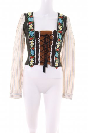 Dolce & Gabbana Trachtenmieder mehrfarbig Vintage-Look