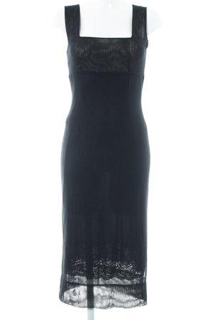 Dolce & Gabbana Trägerkleid schwarz Elegant