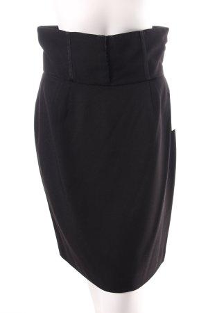 Dolce & Gabbana Falda tulipán negro elegante