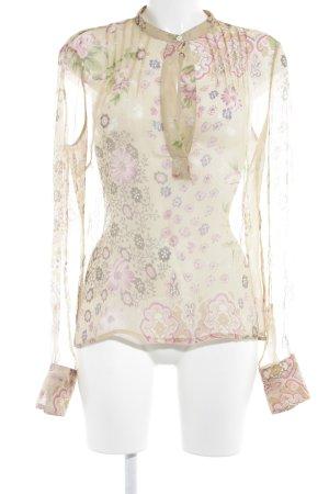 Dolce & Gabbana Tunikabluse florales Muster Romantik-Look