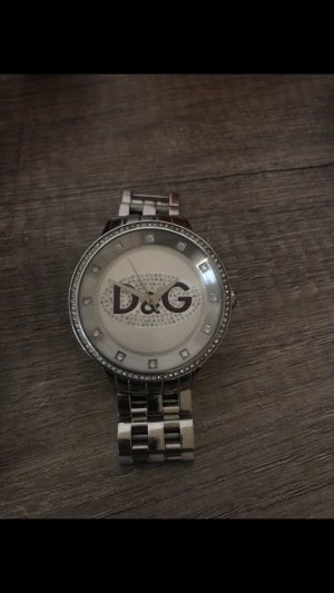 Dolce & Gabbana Watch With Metal Strap silver-colored-blue