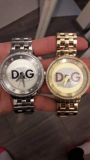 dolce & Gabbana  Uhr. gold oder silber. zusammen oder einzeln