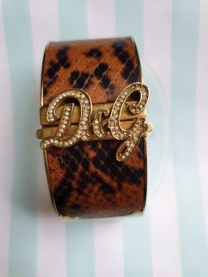 Dolce & Gabbana Uhr im Reptilien Leoparden Style GOLD