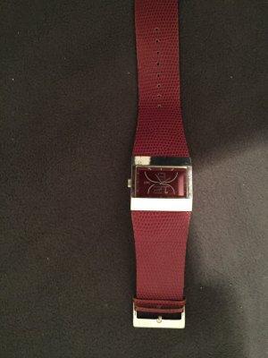 Dolce&Gabbana Uhr in weinrot
