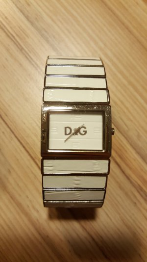 Dolce & Gabbana Watch With Metal Strap white metal