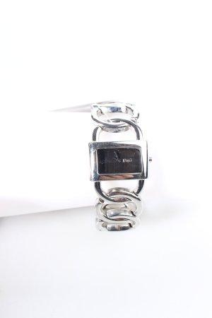 Dolce & Gabbana Uhr mit Metallband silberfarben klassischer Stil