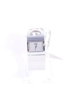 Dolce & Gabbana Uhr mit Metallband silberfarben minimalistischer Stil