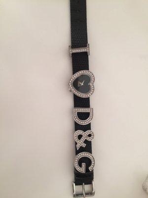 Dolce & Gabbana Uhr schwarz mit Herz