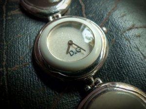 Dolce & Gabbana Uhr silber creme