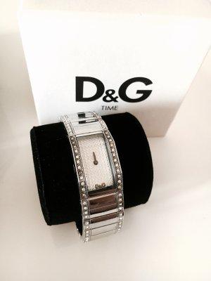 Dolce&Gabbana Uhr silber mit Swarovski Steinen