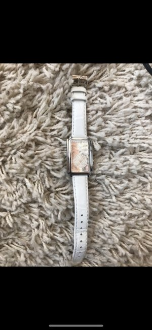 Dolce & Gabbana Orologio con cinturino di pelle bianco Pelle