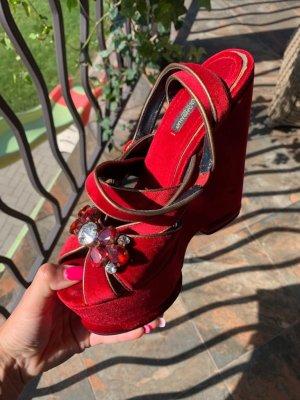 Dolce & Gabbana wedges sandals 39-40