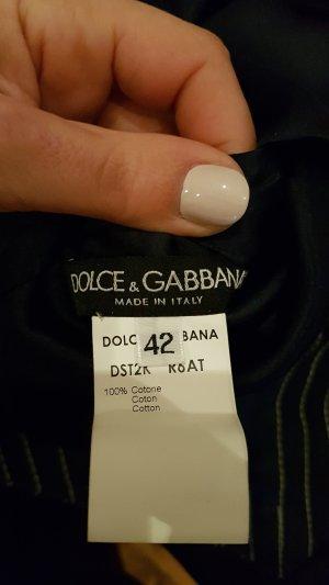 Dolce & Gabbana Gilet en jean bleu foncé