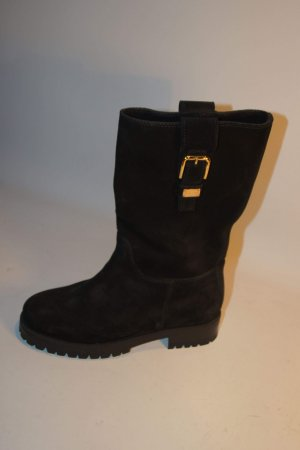 Dolce & Gabbana Short Boots black-gold-colored
