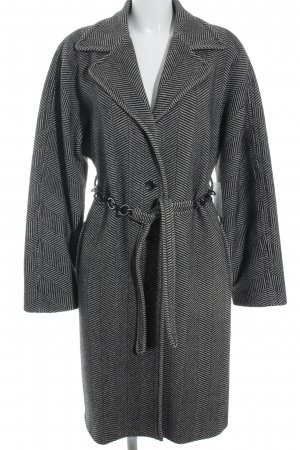 Dolce & Gabbana Wintermantel schwarz-wollweiß Business-Look