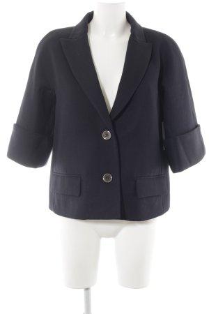Dolce & Gabbana Woll-Blazer dunkelblau sportlicher Stil