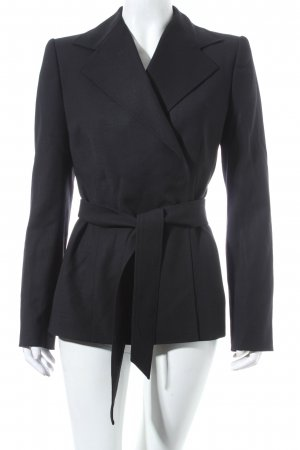 Dolce & Gabbana Woll-Blazer schwarz Business-Look