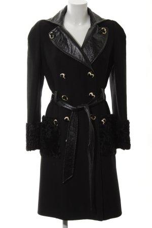 Dolce & Gabbana Cappotto in lana nero elegante