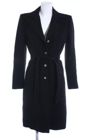 Dolce & Gabbana Wollmantel schwarz Casual-Look