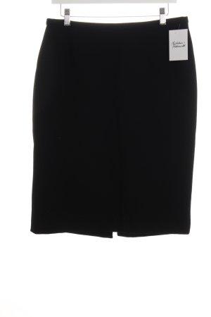 Dolce & Gabbana Wollrock schwarz klassischer Stil