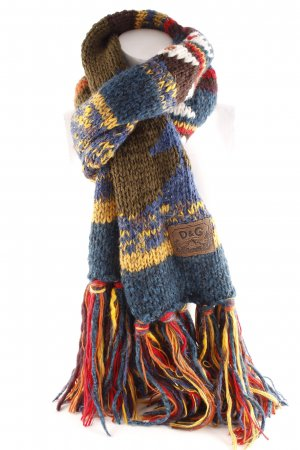 Dolce & Gabbana Woolen Scarf loosely knitted pattern Gypsy style