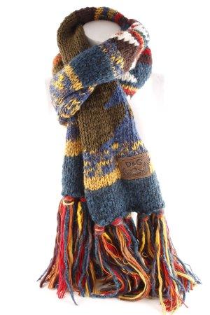 Dolce & Gabbana Écharpe en laine motif tricoté lâche style bohème