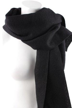 Dolce & Gabbana Wollschal schwarz minimalistischer Stil