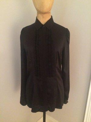 Dolce & Gabbana Silk Blouse black silk
